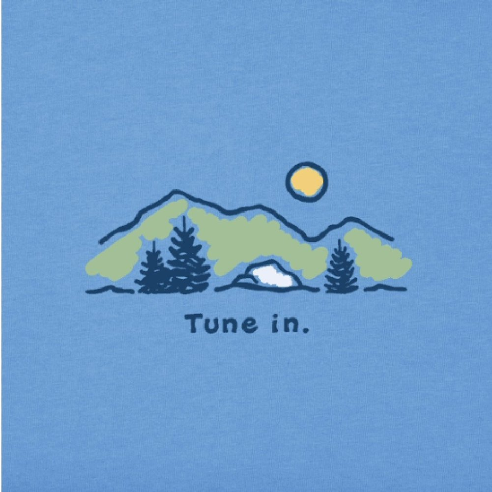 Women's Tune In Vintage Crusher Tee Image a