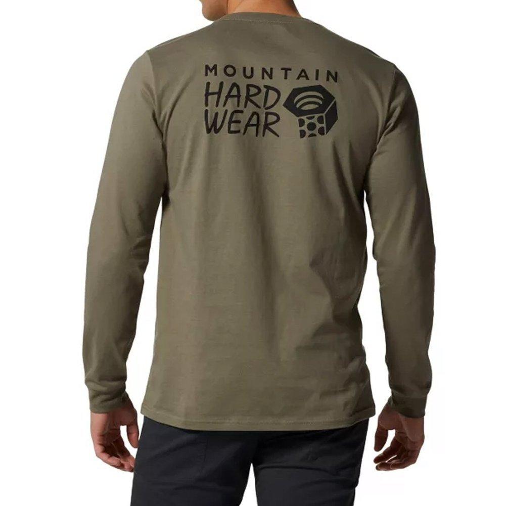 Men's MHW Logo Long Sleeve T-Shirt Image a