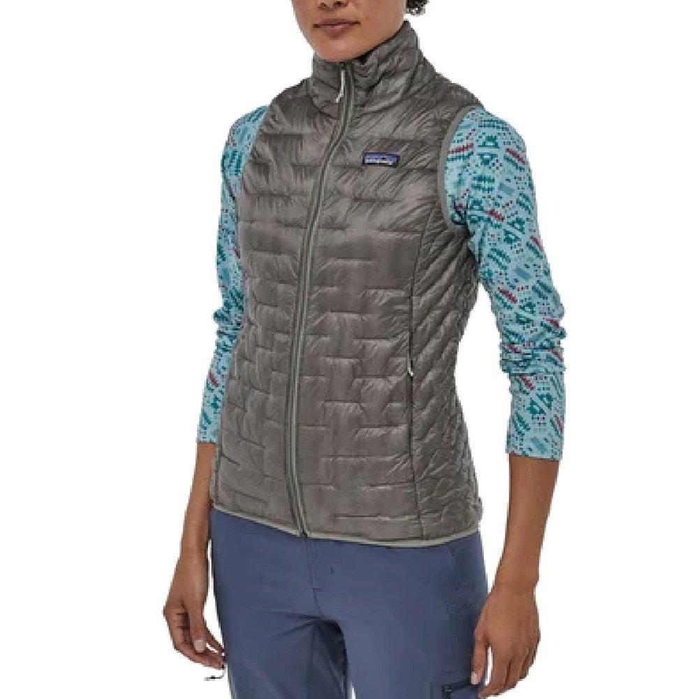 Women's Micro Puff Vest Image a