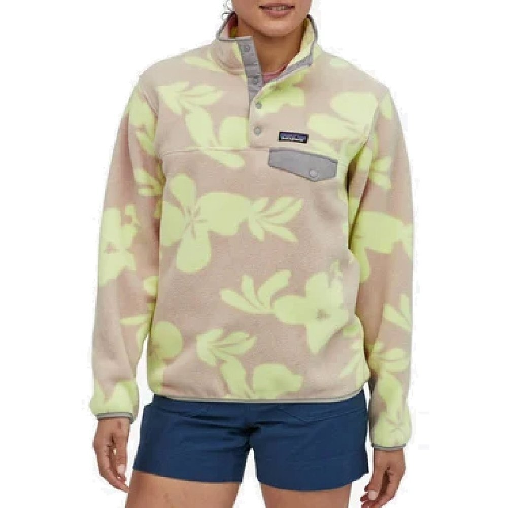 Women's Synchilla Lightweight Snap-T Pullover Image a