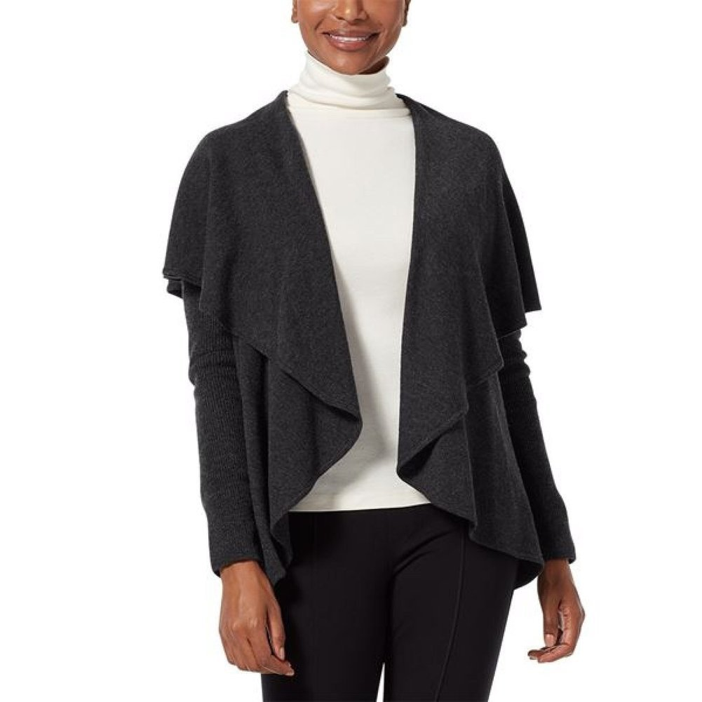 Women's Highlands Wrap L/S Sweater Image a