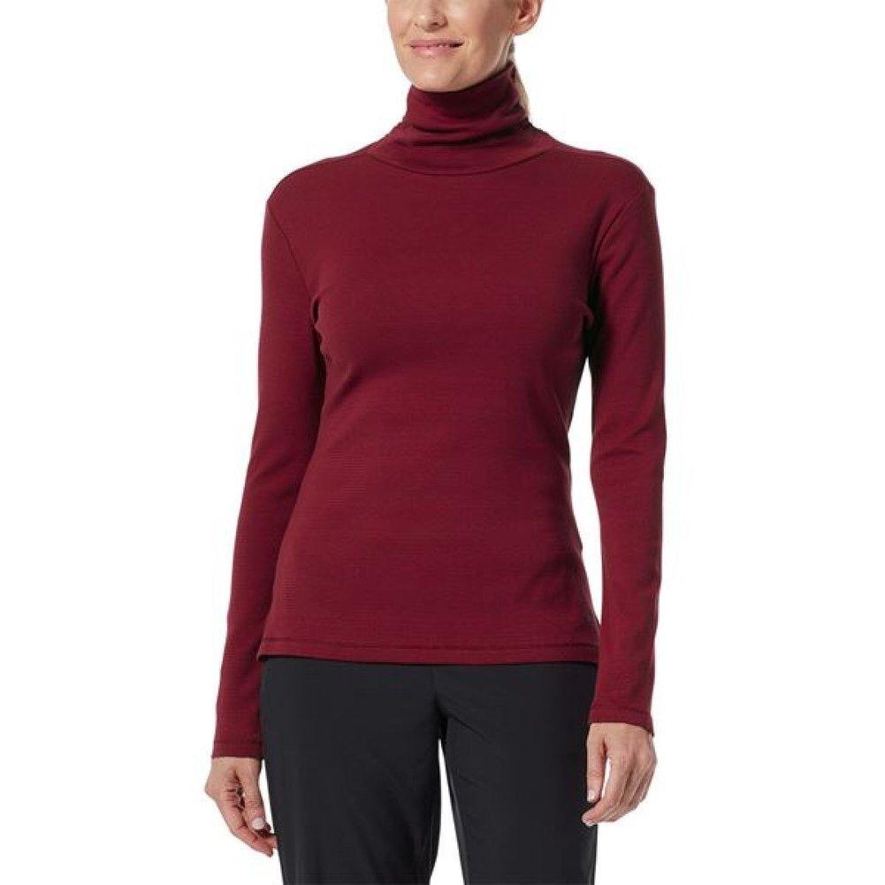Women's Kickback Organic Cotton Turtleneck Shirt Image a