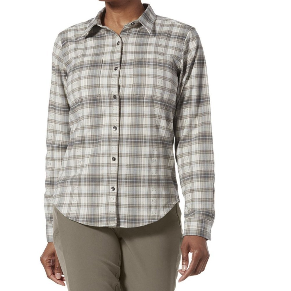 Women's Thermotech Flannel Shirt Image a