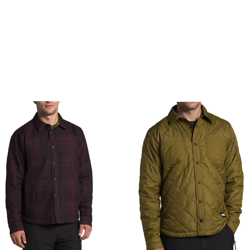 Men's Fort Point Insulated Flannel Jacket Image a
