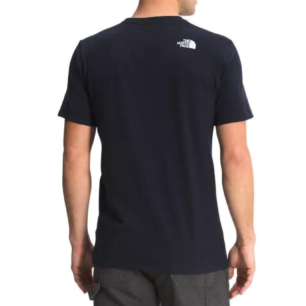 Men's New Short Sleeve USA Box Tee Shirt Image a