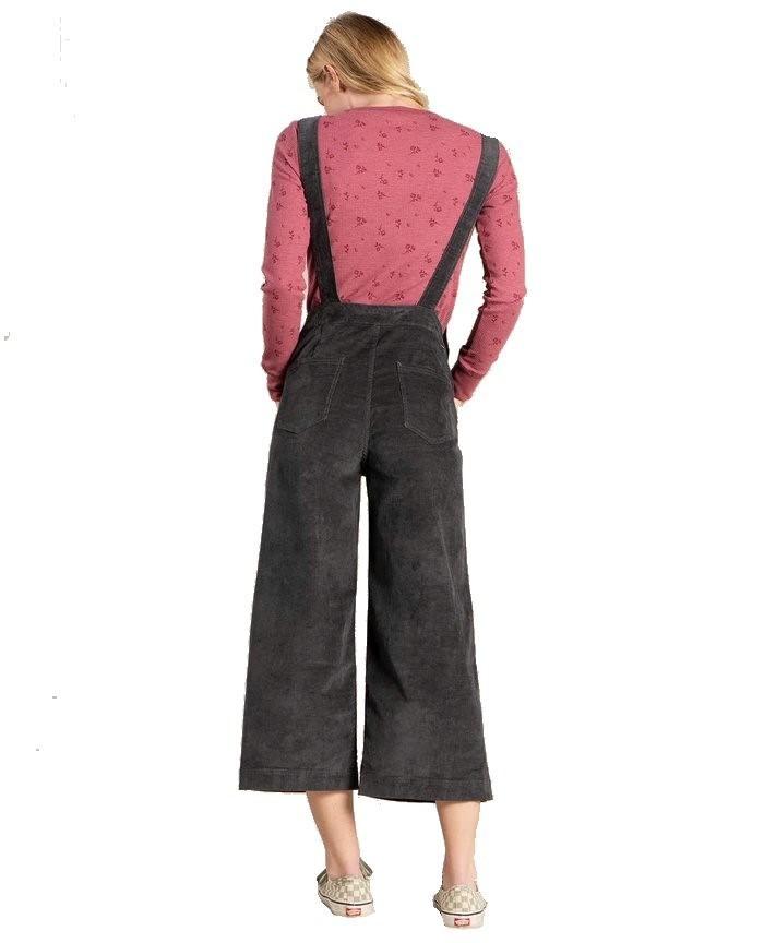 Women's Karuna Cord Overalls Image a