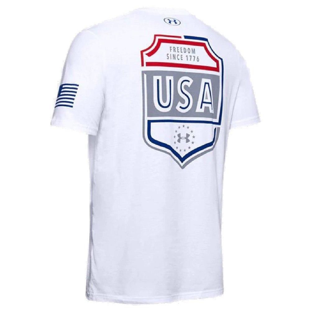 Men's UA Freedom USA Emblem T-Shirt Image a