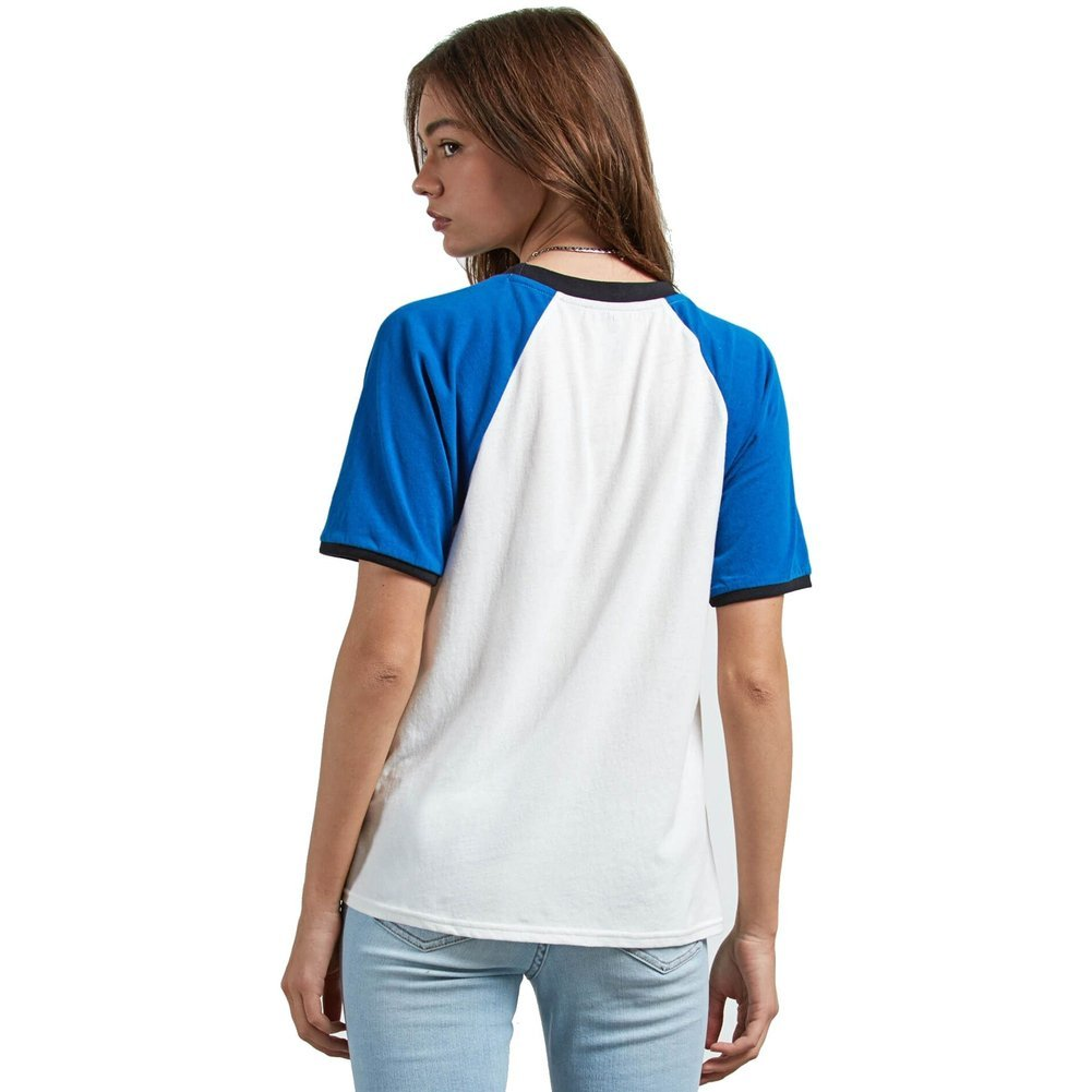 Women's Stage 4 Ringer Tee Shirt Image a
