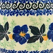 Blue Pansy - 1552