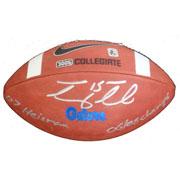 Autographed Footballs