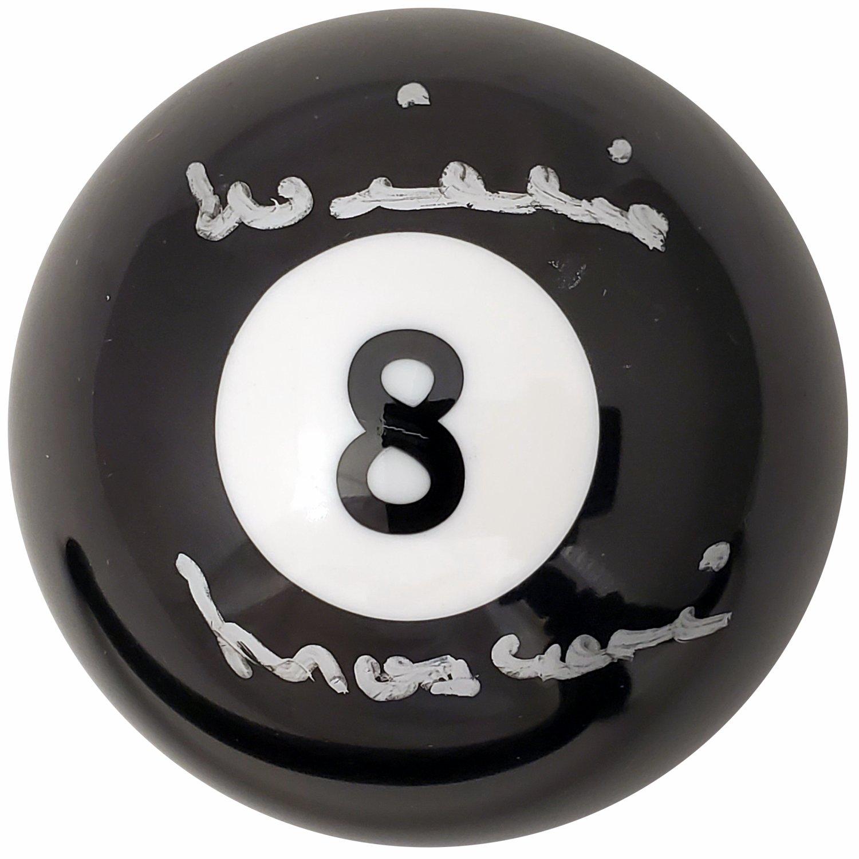 Autographed Pool Balls