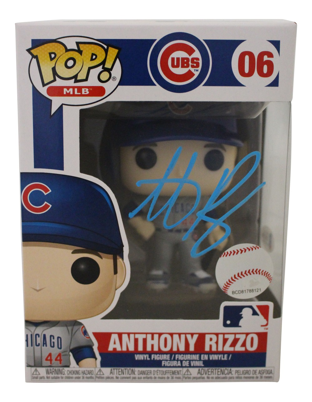 Autographed Figurines and Funko Pop Dolls