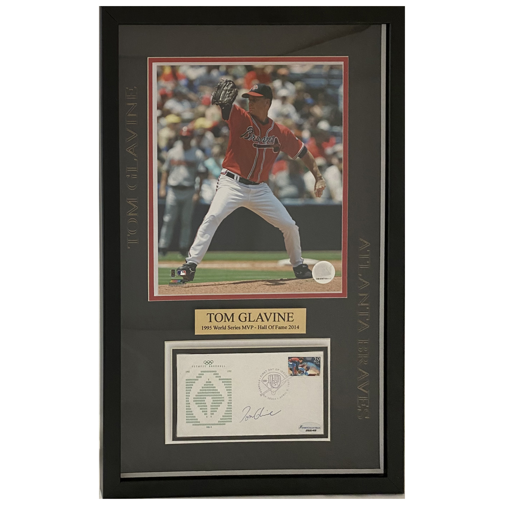 Autographed Framed First Day Covers