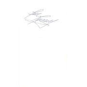 Autographed Cut Signatures