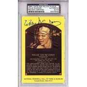 Autographed HOF Yellow Postcards
