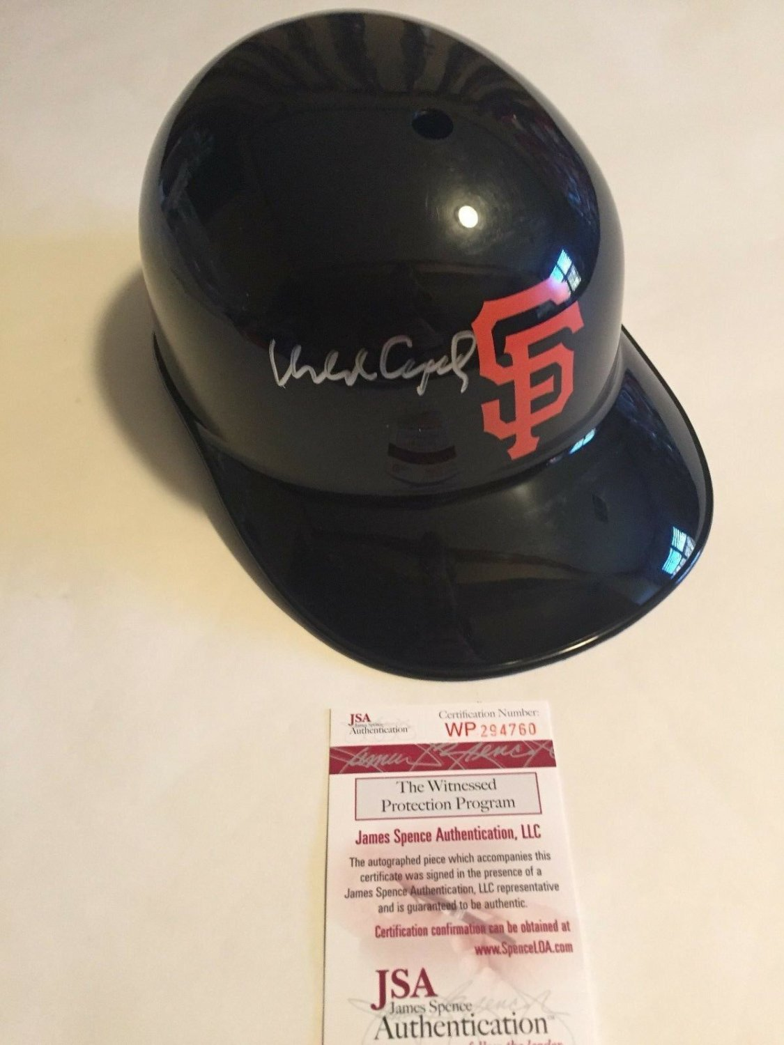 Autographed Helmets and Hats
