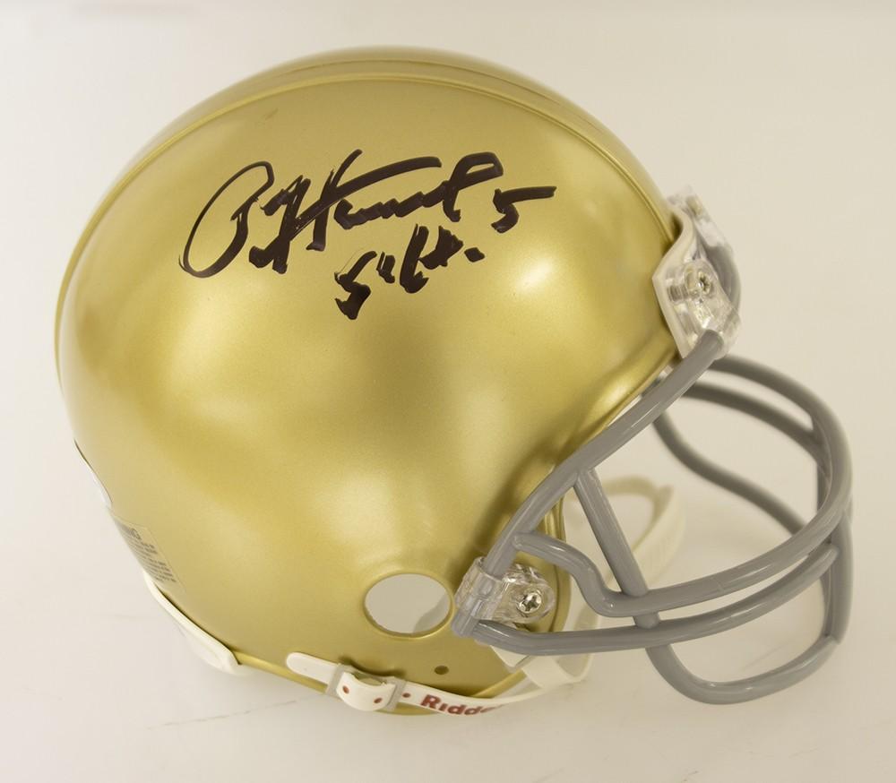 Autographed Helmets