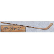 Autographed Hockey Sticks