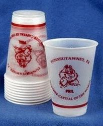 10 oz. Groundhog Day Plastic Party Cups