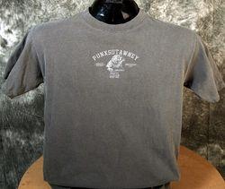 Adult Authentic Punxsutawney Phil T-Shirt Black 2x,3x