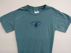 Adult Authentic Punxsutawney Phil T-Shirt Blue Granite