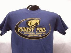 Adult Collegiate Punxsutawney Phil T-Shirt 2x,3x