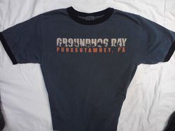 Adult Ghog Day Wildlife T-Shirt 2X-3X
