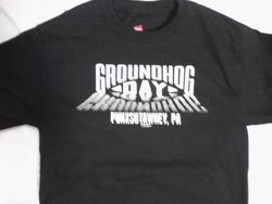 Adult Groundhog Day 3D TShirt (2X -3X)
