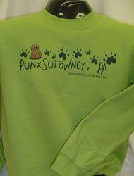 Adult Groundhog Paw Sweatshirt 2x,3X