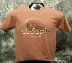 Adult Real Phil T-Shirt-Chestnut