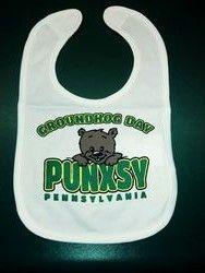 Baby Groundhog Bib