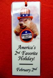 Bookmark - Punxsutawney Phil/Uncle Sam
