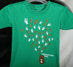 Infant College Kids Groundhog Paw Kelly T-Shirt