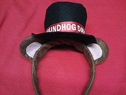 Felt Groundhog Day Headband