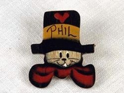 Phil Top Hat Tie Tac