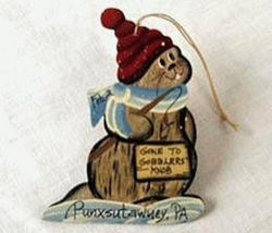 Gone to Gobblers Knob Ornament