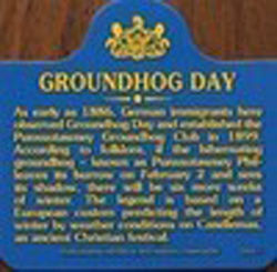 Groundhog Day History Magnet