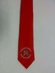 Groundhog Day Necktie - Red