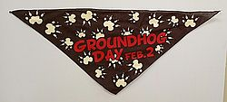 Groundhog Day Pet Bandana