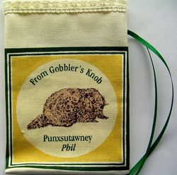 Groundhog Day Sachet Bag