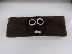 Groundhog Face Headband