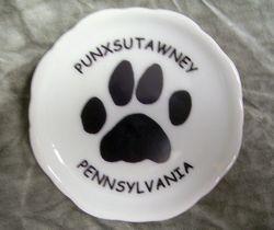 Groundhog Paw Coaster Magnet