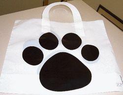Groundhog Paw Gift Bag