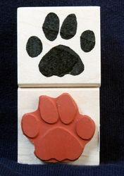 Groundhog Paw Stamp