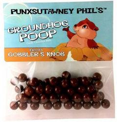 Groundhog Poop Rootbeer Candy