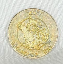 Happy Groundhog Day Commerative Coin
