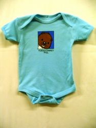 Infant Baby Phil Onesie Short Sleeve-Blue