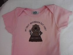 Infant Girl's 1st Ghog T-Shirt