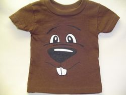 Infant Groundhog Face T-Shirt