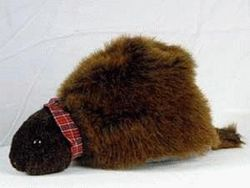 Fur Groundhog Hat